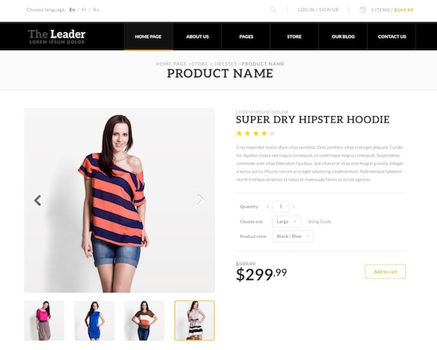 The Leader Woocommerce