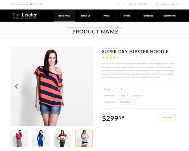WooCommerce Themes 2015: 5 Minimalistic Examples