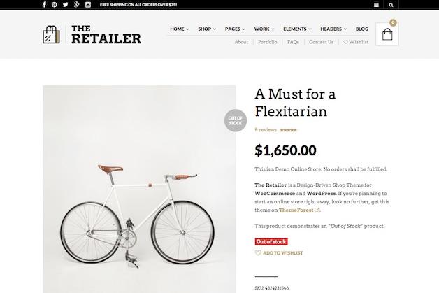 The Retailer Woocommerce