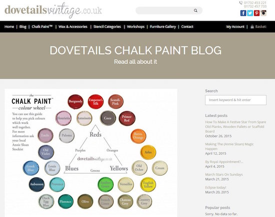 Dovetailsvintage Colour Wheel