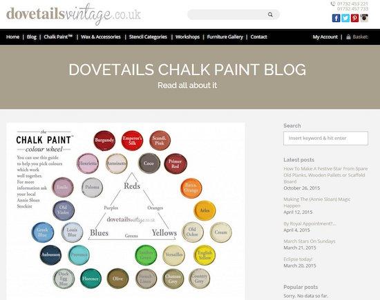 Dovetailsvintage Colour Wheel