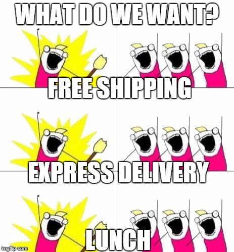 customer expectations meme
