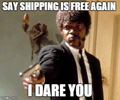 shipping fees meme