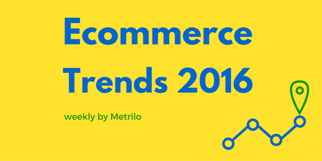 Ecommerce Trends 2016 Weekly By Metrilo