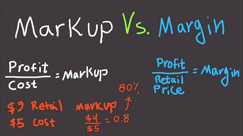 Mark Up Vs Margin