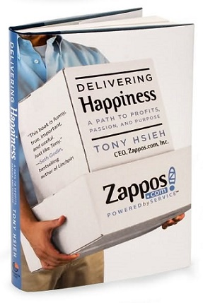 Delivering Happiness A Path To Profits, Passion, And Purpose By Tony Hsieh