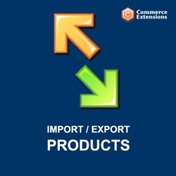 Extension Icon Import Export Products 2