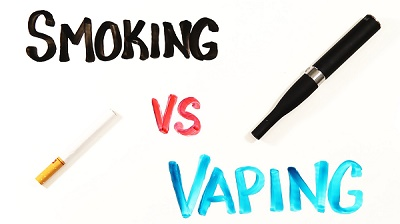 Compare Smoking Vs Vaping
