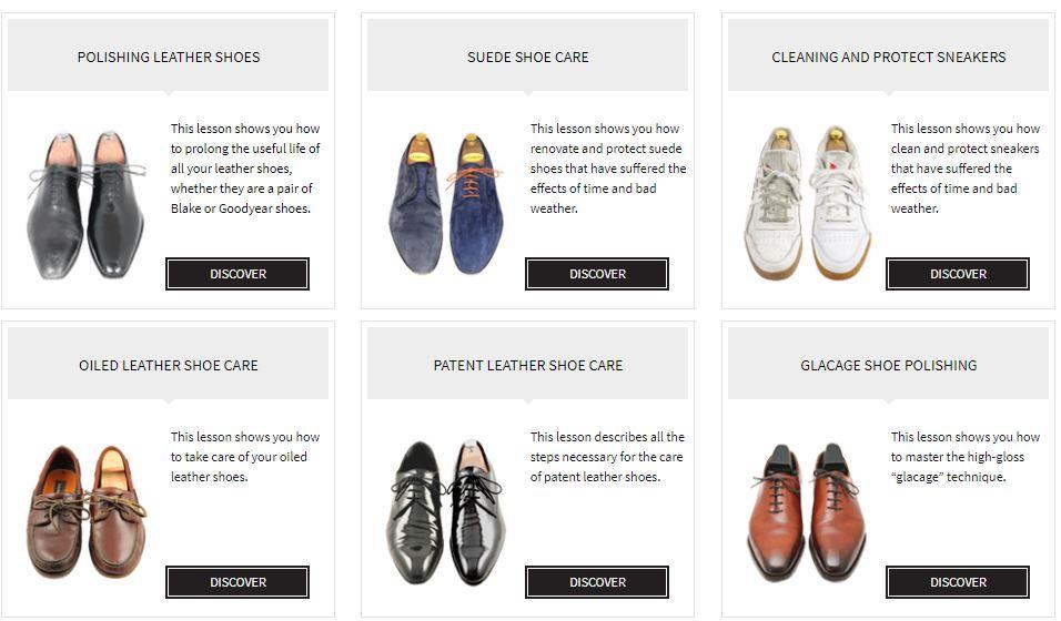 Shoe Care Content