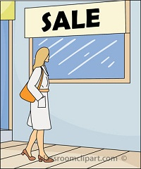 Window Shopping Sale