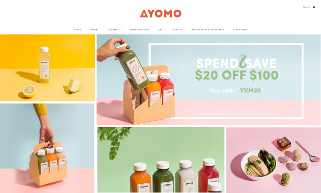 Ayomo Brand Color Scheme