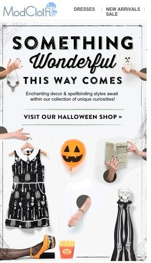 Halloween Cheer Email