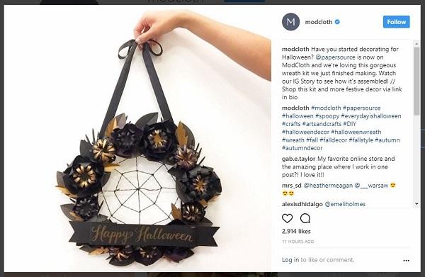 ModCloth's Instagram