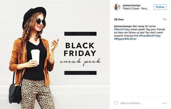 Instagram Black Friday