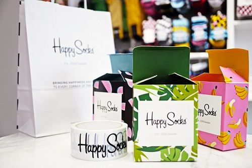 Multicolor Branded Packaging
