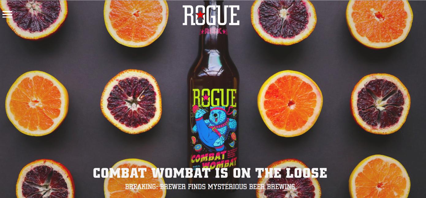 Rogue Ales Visual Identity