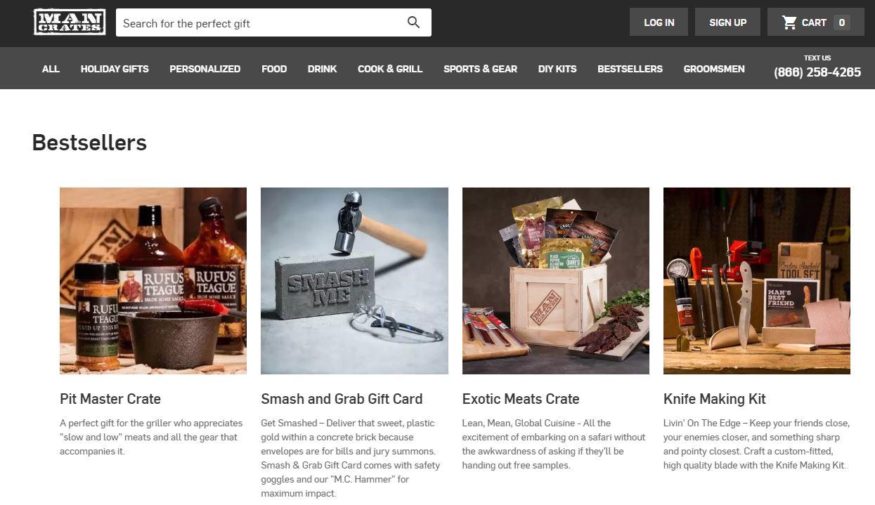 Mancrates Website