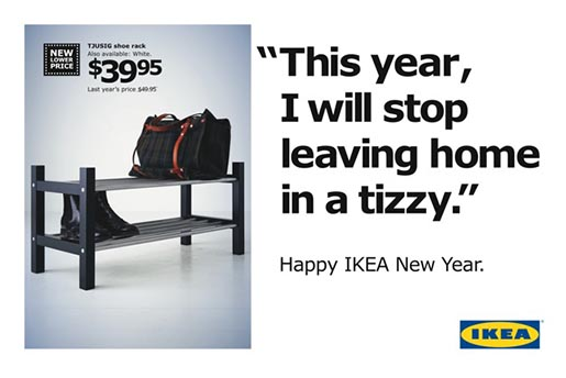 Ikea New Year's Resolution 1