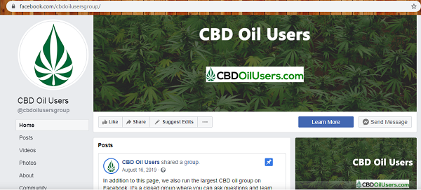 Cbd Oil Facebook Group
