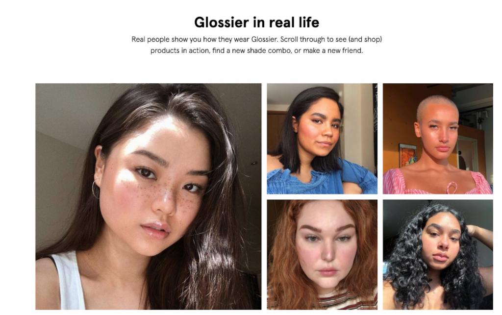 Glossier Brand Ambassadors 1024x643