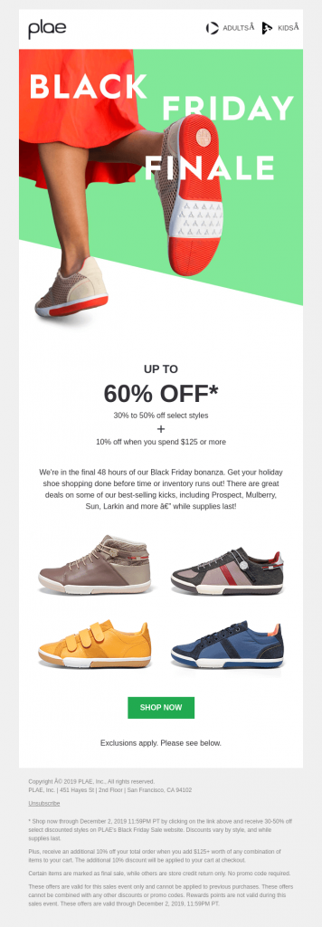 Email Example Colors5